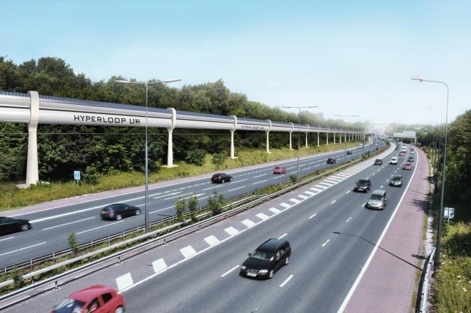 Hyperloop super speed vitesse vision du Royaume-Uni