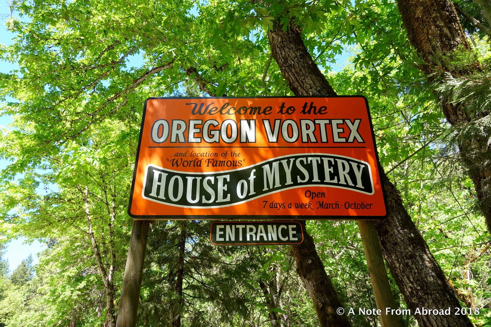 House of Mystery ~ Oregon Vortex